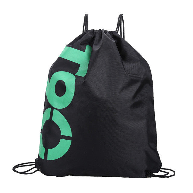 34*42cm Double Layer Drawstring Waterproof Backpacks Colorful Shoulder Bag Swimming Bags for Outdoor Sports EA14