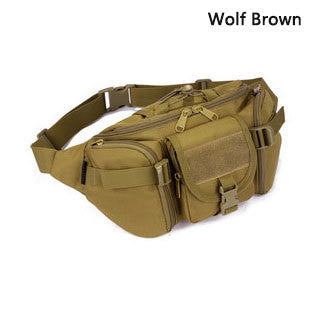SINAIRSOFT Tactical Molle Bag Waterproof Waist Bag Fanny Pack Hiking Fishing Sports Hunting Waist Bags Tactical Sports Bag Belt