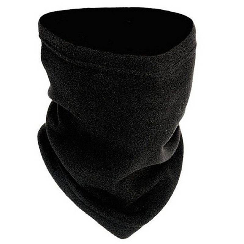 3-in-1 Winter Fleece Scarf Neck Warmer Face Mask Hat Snood Skiing Snowboarding Cycling Hiking Unisex