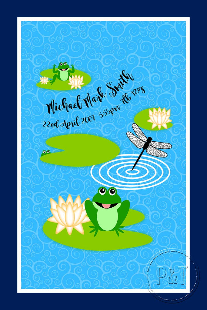 Special Edition Blankets - Pond Frog