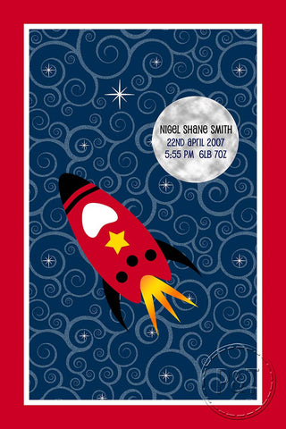 Special Edition Blankets - Space Rocket