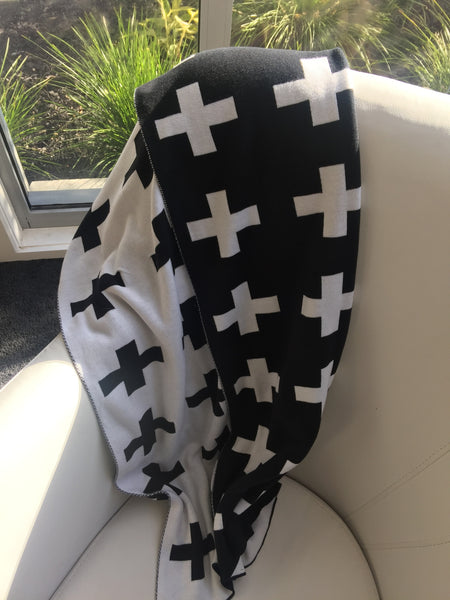 Reversible Cross Blankets