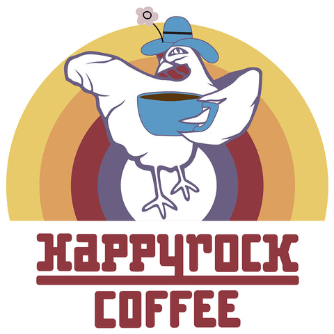 Happyrock Hen Sticker
