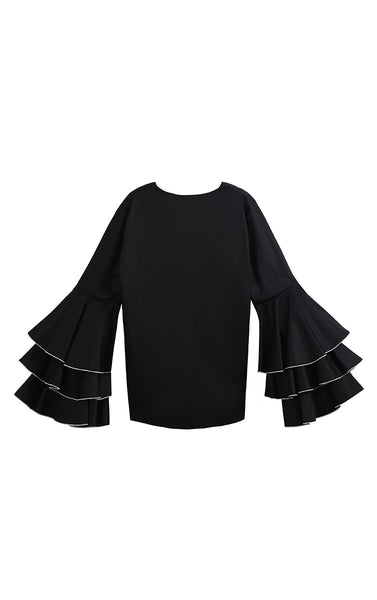 The Dixie Blouse (Black)