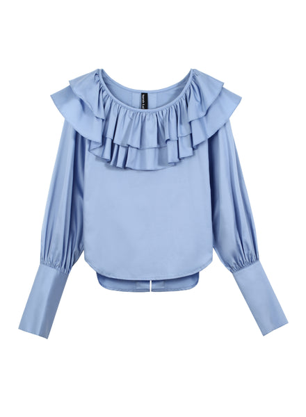 The Isaac Blouse (Sky Blue)
