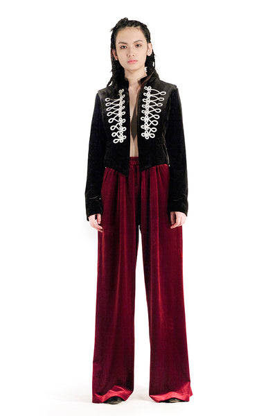 The Juno Pants (Maroon) - Sarah Lai