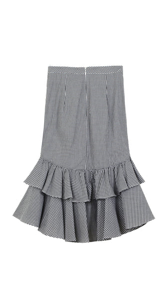 The Lise Skirt (Gingham) - Sarah Lai