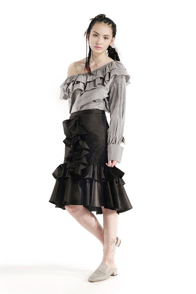 The Lise Skirt (Black) - Sarah Lai