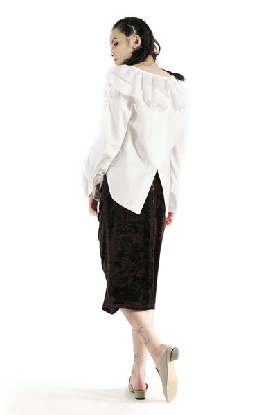 The Louis Blouse (White) - Sarah Lai
