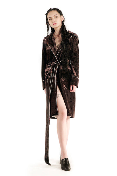 The Morgan Robe (Chocolate) - Sarah Lai