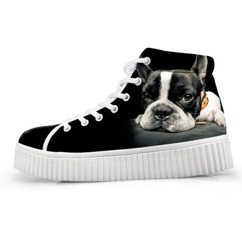 Creepers mode Bully pour femme - Bulldog&CoFolies