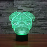 Lampe tactile Led - Bulldog&CoFolies