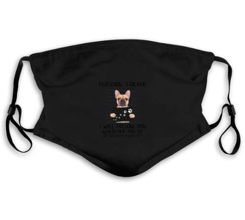 Masque filtrant french bulldog - Bulldog&CoFolies