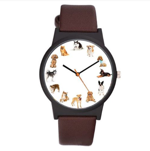 Montre multi-chiens - Bulldog&CoFolies