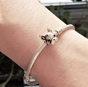 Ensemble bracelet et charm Frenchie - Bulldog&CoFolies