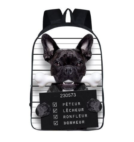 Cartable Bad Dog - Bulldog&CoFolies