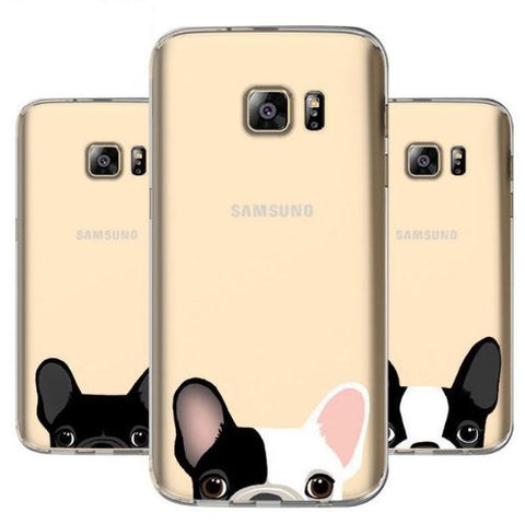 Coque souple Galaxy Note - S5 à S8 - Bulldog&CoFolies