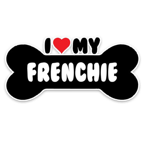 Sticker love frenchie