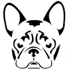 Sticker french bouledogue - Bulldog&CoFolies