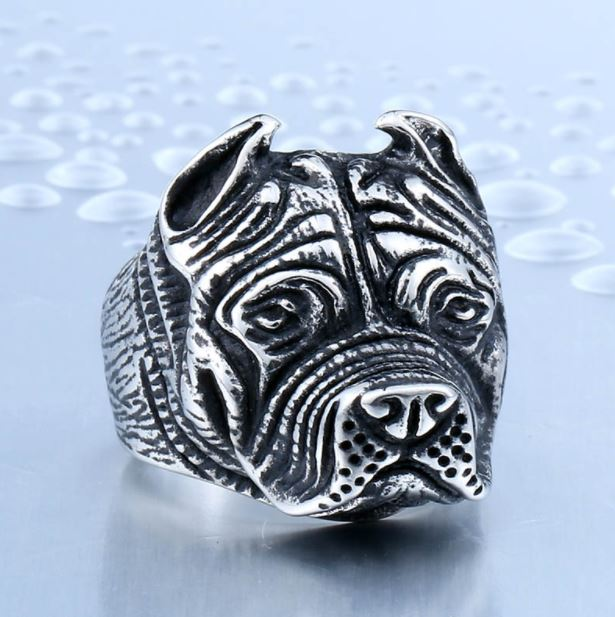Bague Pitbull - Bulldog&CoFolies