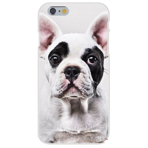 Coque souple iPhone puppies - Bulldog&CoFolies