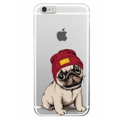 Coque souple carlin Samsung Galaxy S-A-J-C-M-Note - Bulldog&CoFolies