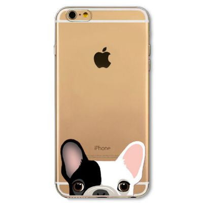 coque bouledogue iphone 5 6