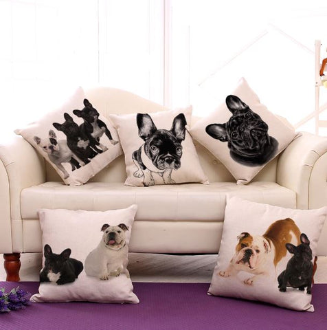 Housse de coussin boubous and co - Bulldog&CoFolies