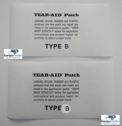 Tear Aid - 2 x (15cm x 7.65cm) Individual Patches, TYPE B