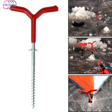Tough Ground - Tent Peg, Hand Screw Into Hard Ground