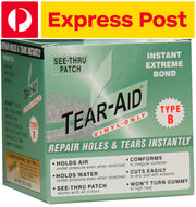 Tear Aid - Type B 152cm (5ft) Bulk Roll (Vinyl, PVC Products) ** EXPRESS POST **
