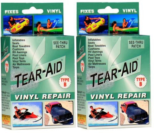 Tear Aid - 2 x Retail Box Repair Kit Type B (Vinyl, PVC Products)