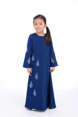Jubah D'YANA Carina Teen - JBH8352S – Royal Blue