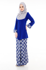 Kebaya Adelle - BJK3008D - Royal Blue