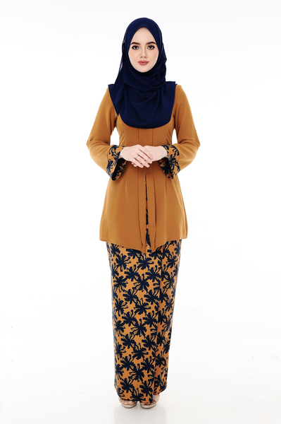 Kebaya Adelle - BJK3008D - Spicy Brown