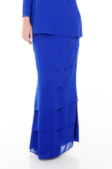Skirt Eva - SK20005-D - Royal Blue