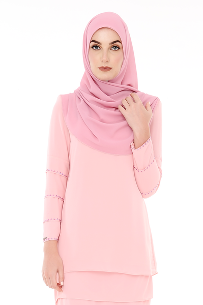 Blouse Eva - BL20005-D - Light Peach