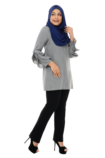 Blouse Ara - BL1278 - Grey
