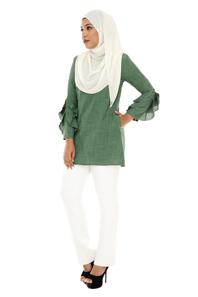 Blouse Ara - BL1278 - Green