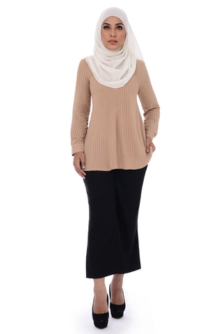 Blouse D'YANA Ella- BL60027-D - Brown