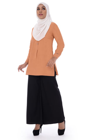 Blouse D'YANA Ivory - BL357- Orange