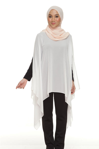 Blouse D'YANA Regina - BL388-D - Off White