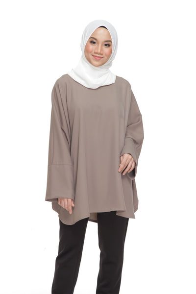 Blouse D'YANA Stella - BL208-D - Brown
