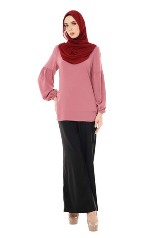 Blouse Nayra - BL331-D - Dusty Pink