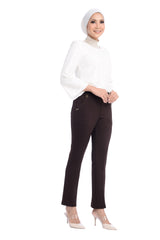 Pants Chantella - D10009 - Brown