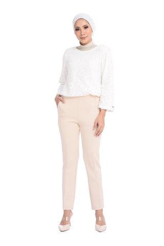 Pants Chantella - D10009 - Cream