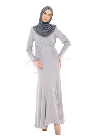 Dress Talya - DRS0009 - Grey