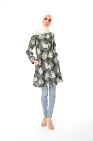 Blouse Donna - BL60018-D - Army Green