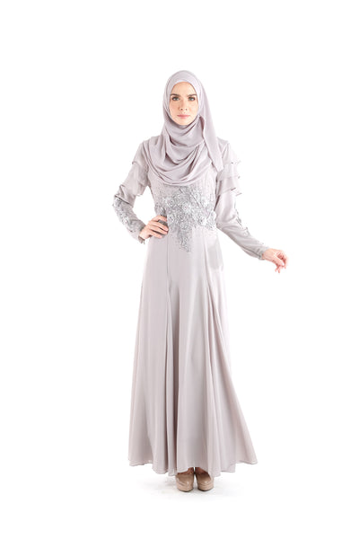 Dress D'YANA Rosanda - DRS00012-D - Grey