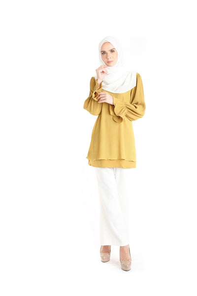 Blouse D'YANA Ellen - BL337D - Yellow